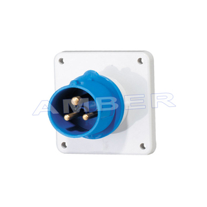 High-End Type IP44 Panel Mounted Plug